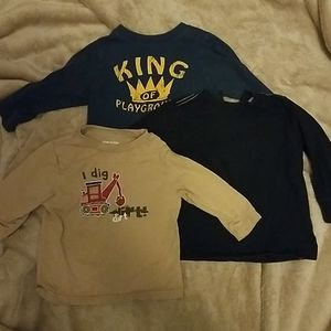 Lot of 3 boys shirts size 18 mos